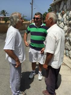 Andreas, Symon, Ibrahim