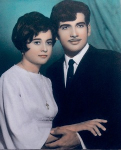 Giorgios, Maria (at age 15) when they were engaged