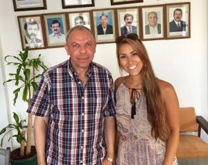 Özcan and I