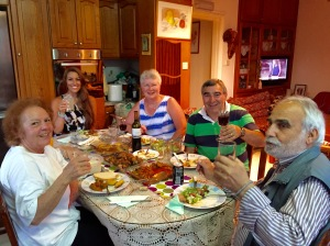 Anastasia, me, my mum (Sue), my dad (Symon) and my uncle (Dimitri)